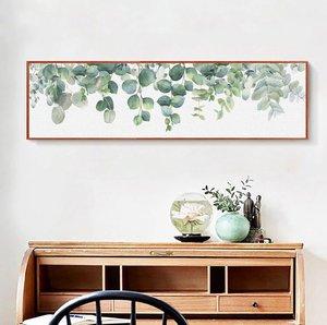 صورة لوحة جدارية بالعرض باشكال طبيعية
