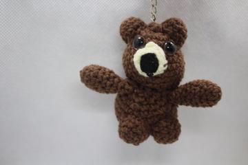 صورة ميدالية الدب اللطيف