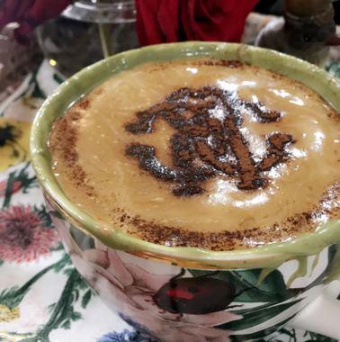 صورة ستانسل للقهوة