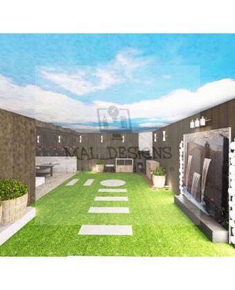 صورة تصميم سطح منزل