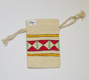 صورة Mini ZARAA: كيس كانفاس بربطة، حجم صغير