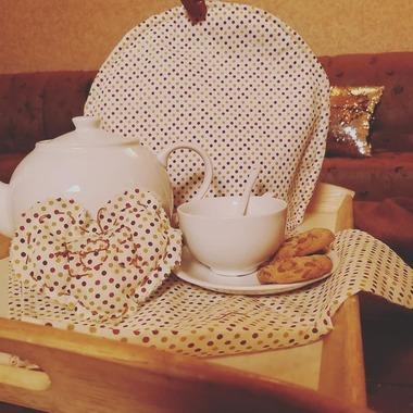 صورة طقم غطاء ابريق الشاي
