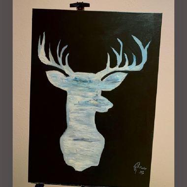 صورة Deer canves
