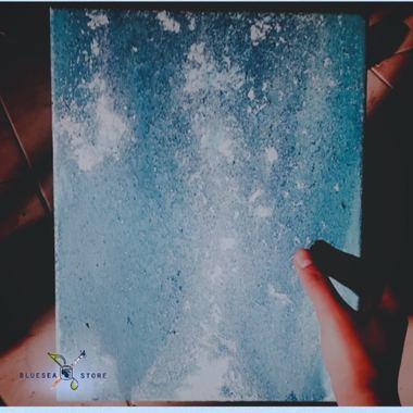 صورة Blue canves