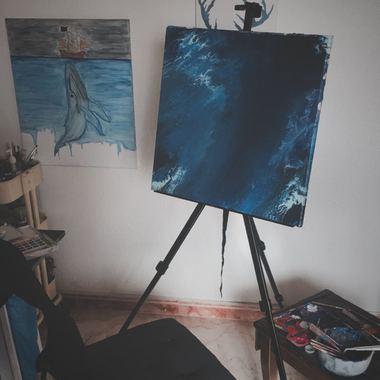 صورة لوحه جداريه