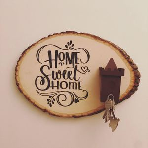 صورة لوحة مدخل البيت السعيد