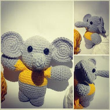 صورة دمية الفيل